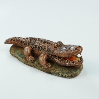 Статуэтка крокодил талисман подарок для мужчины