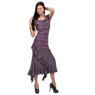 Авторское трикотажное платье
