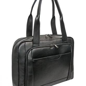Кожаная сумка для ноутбука с удлиненными ручками TARWA GA-5000-4lx