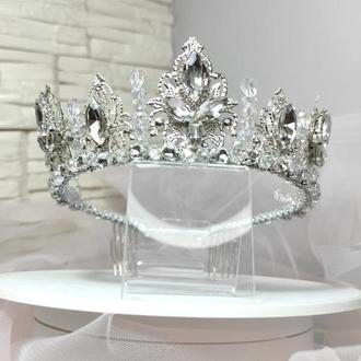 Роскошная корона для невесты
