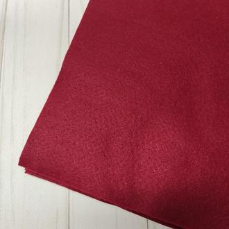 Фетр мягкий 1.4 мм бордовый
