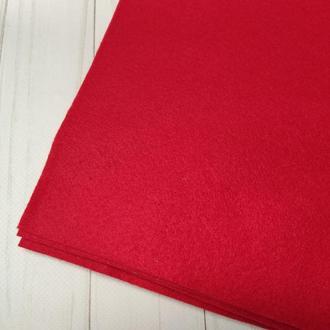 Фетр мягкий 1.4 мм красный
