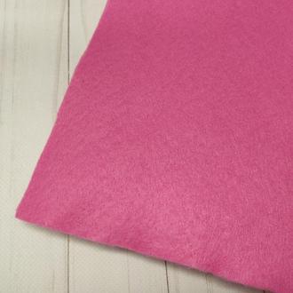 Фетр мягкий 1.4 мм темно розовый