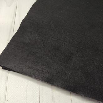 Фетр мягкий 1.4 мм черный