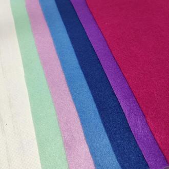 Набор фетра мягкого 1.4 мм, 6 шт сине-фиолетовые цвета