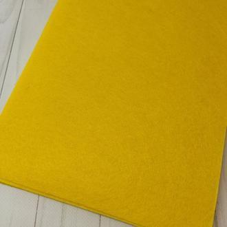 Фетр жесткий 1 мм желтый
