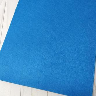 Фетр жесткий 1 мм синий