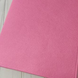 Фетр жесткий 1 мм розовый