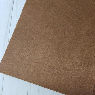Фетр жесткий 1 мм коричневый