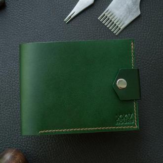 Кожаный кошелек (Зеленый) Pointer Buttero