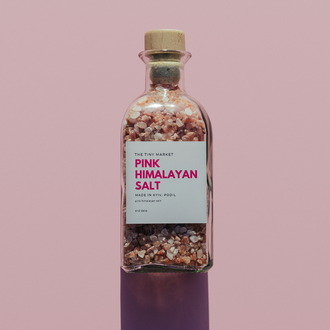 Розовая гималайская соль для ванны