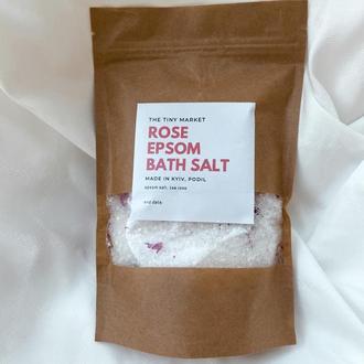Английская соль с розой