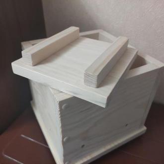 Пресс деревянный для брынзы