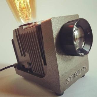 Настольный светильник в стиле лофт. Ретро ночник лампа эдисона. LOFT