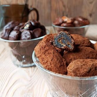Финики в шоколаде