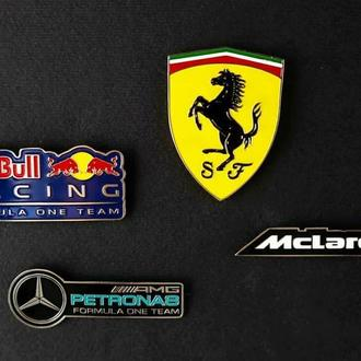 Значок Pin Formula 1