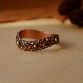 Кольцо Дикая Волна
