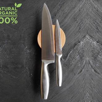 Тримач магнітний для ножів , круглий,10 см Ясен