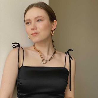 Ожерелье с крупными звеньями
