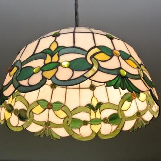 Витражная лампа, светильник, абажур