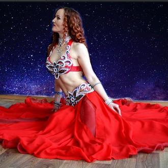 костюм для восточных танцев, танца живота, bellydance