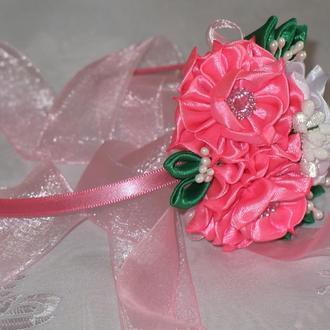 """Обруч """"Красиві квіти"""""""