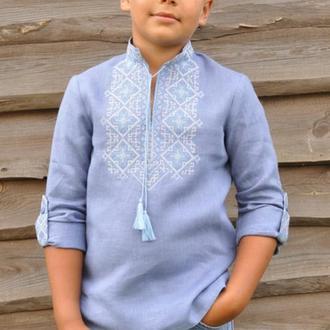 Вышиванка для мальчика ДМ01/1-273