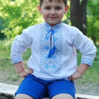Вышиванка детская для мальчика Д081-115