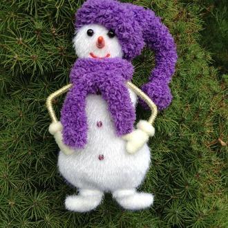 """Новогодняя игрушка """"Снеговик"""""""