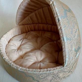 Лежачек лежак лежанка для собак и котов XS, S