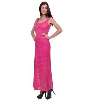 Платье (машинная вязка).