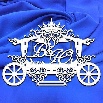 Семейный герб, свадебная монограмма, свадебный герб, инициалы, вензель 27
