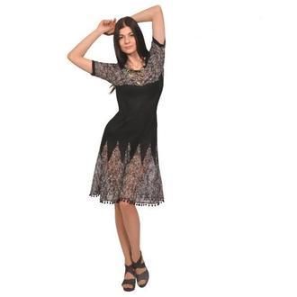 Трикотажное платье (вечернее).