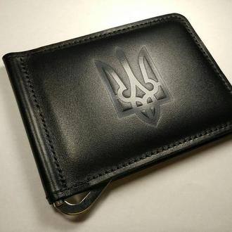 Зажим для денег с Гербом Украины