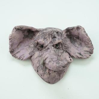 Слон маска на стену