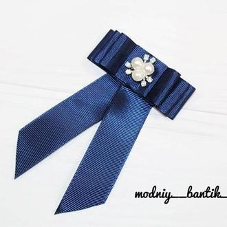 Брошь школьная галстук для девочки