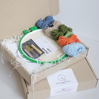 Наборы для ковровой вышивки / Набор для вышивания в ковровой технике