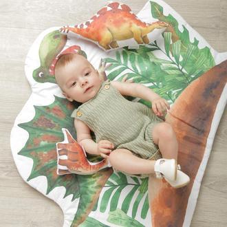 Коврик в детскую в виде динозавра Dino