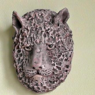 Тигр оберег-маска на стену