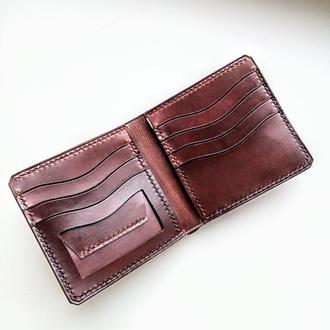 Мужской кошелек с карманом для прав