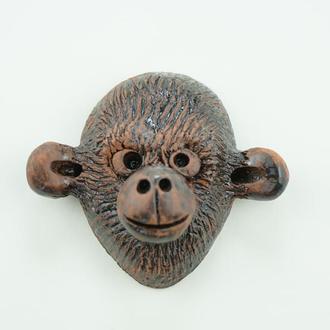 Маска на стену обезьяна сувенір мавпа