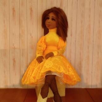 текстильная кукла Мулатка