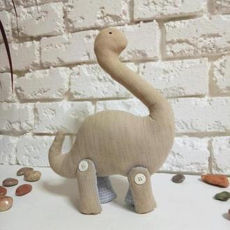 Игрушечный динозаврик Дино Мягкая игрушка Динозавр Декор