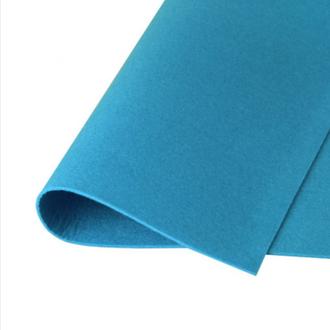 Фетр корейский жесткий 1.2мм, 20х30см, №6 Светло-синий