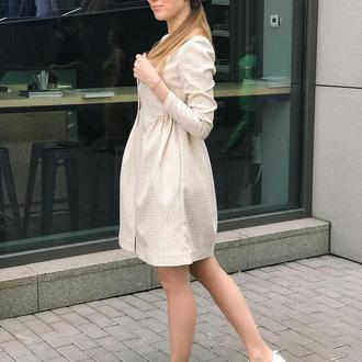 Платье жаккард PRADA