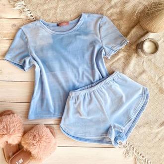 Пижама для девочки футболка + шорты