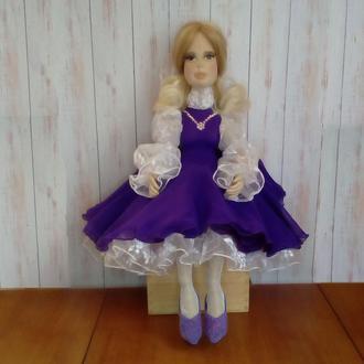 кукла блондинка шарнирная