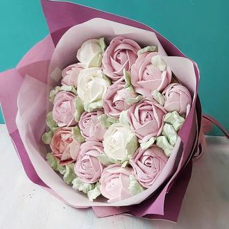 Зефирный букет Розы