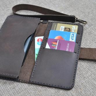 Кожаный чехол для смартфона H11-450
