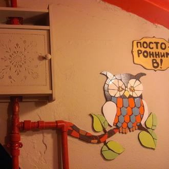 Стена в кафе Гречка
